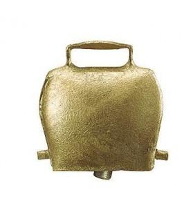 Cloche acier droit coloris bronze 6 cm pour Ovin et Caprin