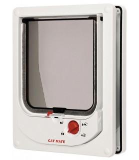 Chatière 4 voies Cat Mate® avec ouverture magnétique pour Chat