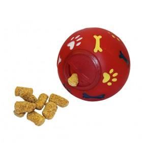 Jouet Balle snack Diam 11 cm pour Chien