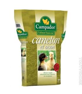 Caneton Canard Oison Oie Aliment complet CAMPADOR en Granulés x 25 kg