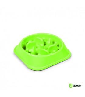 Mangeoire Gamelle Anti-glouton GAUN ronde pour Chien
