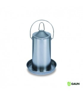 Abreuvoir en acier inoxydable GAUN 4 L pour Volaille