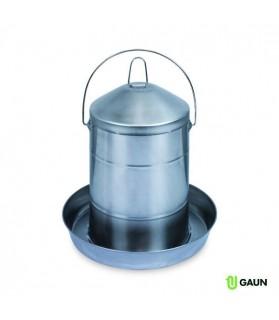 Abreuvoir acier inoxydable GAUN 12 L pour Volaille
