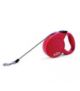 PLT1007836-PLT1007836-Laie-a-enrouleur-Flexi-Claic-Basic-Mini-XS-rouge